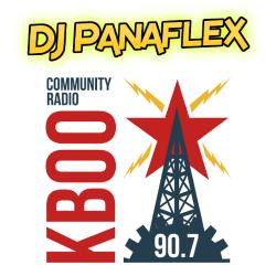 DJ Panaflex on KBOO FM